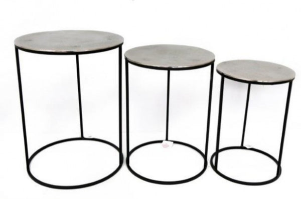 Set of 3 Round Nested Tables