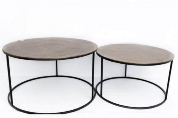 Set Of 2 Round Tables