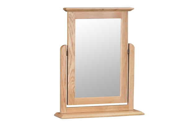 Nottingham Trinket Mirror - Oak