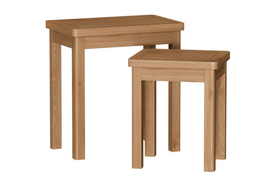 Rothley Collection - Nest of 2 Tables - Available in 2 Colours