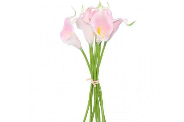 Bunch Of 9 Pink Cala Lily