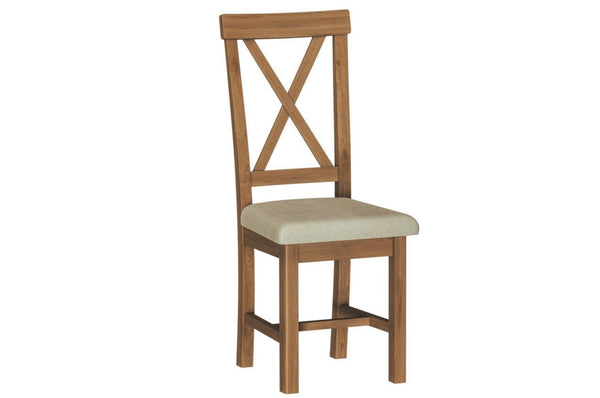 Rothley Collection - Cross Back Dining Chair - Available in 2 Colours