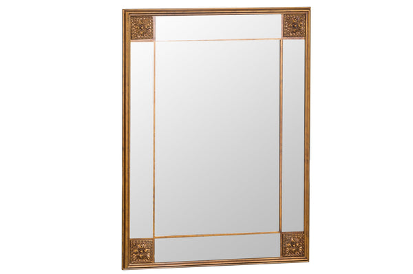 Mirror Collection - Rectangular Gold Frame