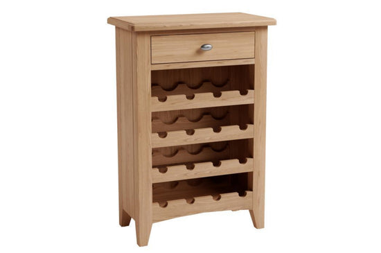 Guernsey Collection - Gin / Wine Cabinet - Light Oak