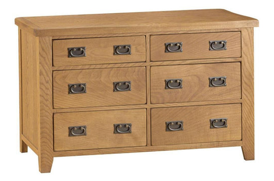 Stamford Collection - 6 Drawer Chest - Oak