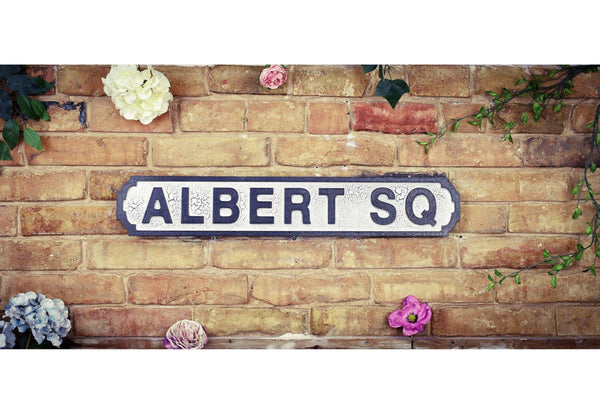 Vintage Style Road Sign - Albert Square