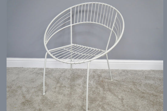 Retro Style Garden Chair (Available in 3 Colours)