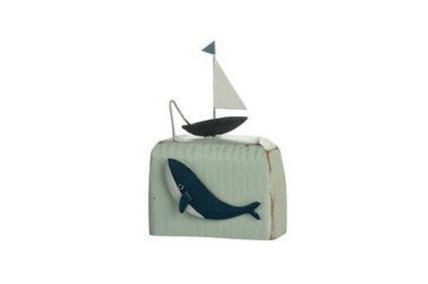 Deep Sea Fishing Block Ornament