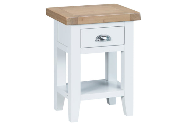 Trentham Collection - Side Table - Oak - Available in White or Grey