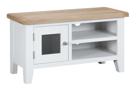 Trentham Collection - TV Unit - Oak - Available in White or Grey