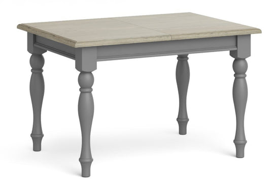 Morocco 1.2m Extending Table - Grey
