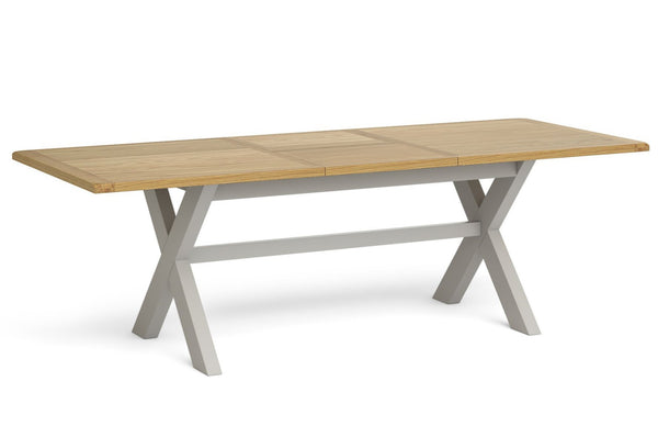 Surrey Collection - 1.9m Cross Large Extending Table