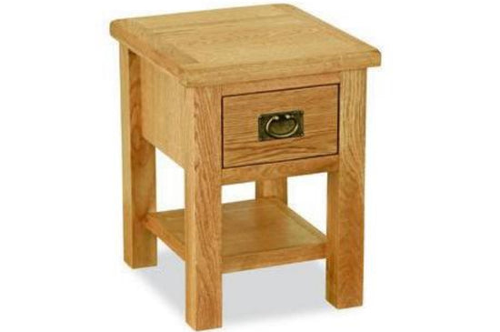 Shrewsbury Lite Collection - Lamp Table - Oak