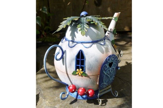 Fairy Teapot House Garden Ornament