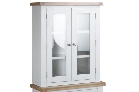 Trentham Collection - Hutch - Oak - Available in White or Grey