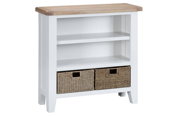 Trentham Collection - Bookcase - Oak - Available in White or Grey