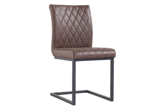 Diamond Stitch Dining Chair - (Available in Various Colours)
