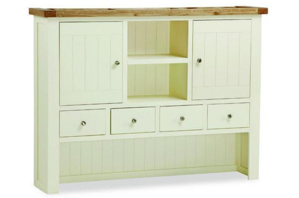 Cotswold Collection - Hutch - Oak / White