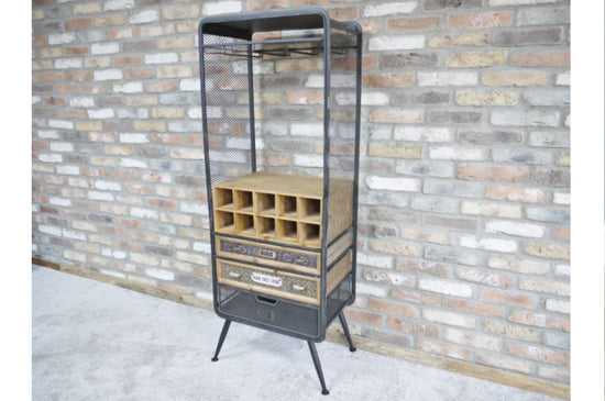 Industrial Gin / Wine Cabinet