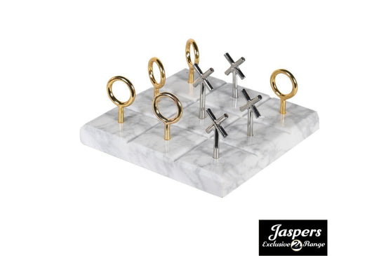 Marble Noughts and Crosses Ornament