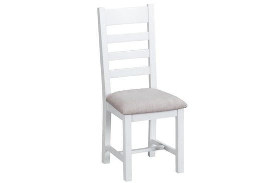Trentham Collection - Ladder Back Dining Chair - Oak - Available in White or Grey