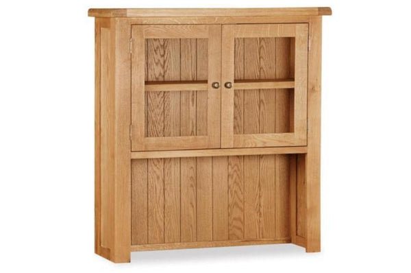 Shrewsbury Collection - Small Hutch - Oak
