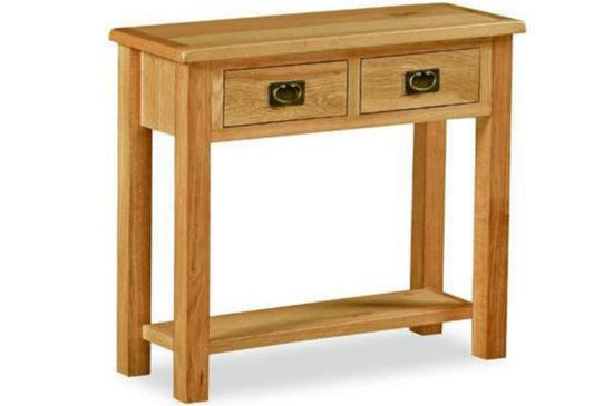 Shrewsbury Lite Collection - Console Table - Oak