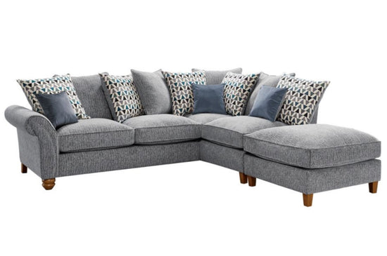 Venice Large Chaise Cornergroup Sofa - Available in Different Styles & Colours