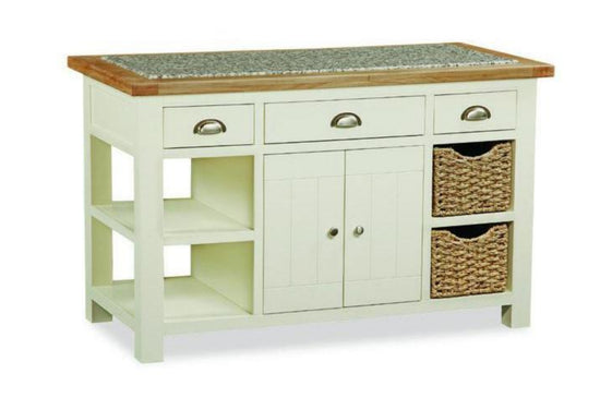 Cotswold Collection - Kitchen Island - Oak