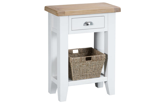 Trentham Collection - Telephone Table - Oak - Available in White or Grey