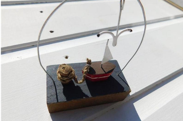 Little Sailboat Ornament