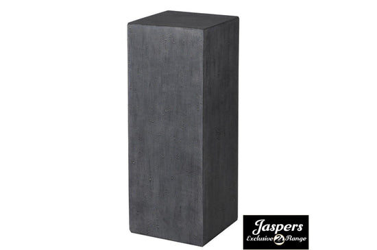 Small Concrete Pillar - Grey / Charcoal