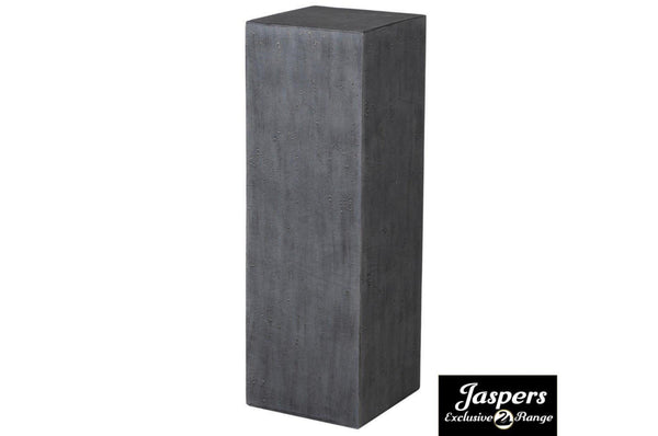 Large Concrete Pillar - Grey / Charcoal