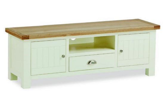 Cotswold Collection - Large TV Unit - Oak