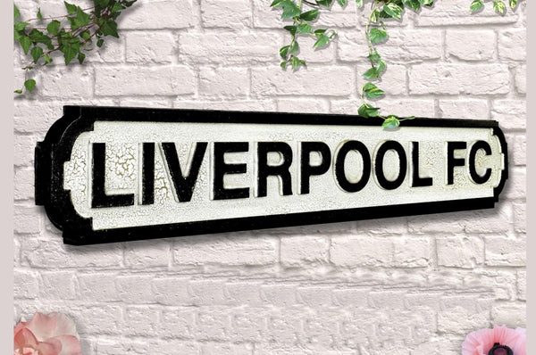 Vintage Style Road Sign - Liverpool FC