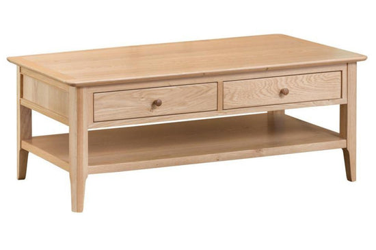 Nottingham Large Coffee Table - Oak