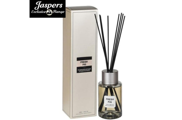Small Fresh Fig Diffuser - Silver / Natural