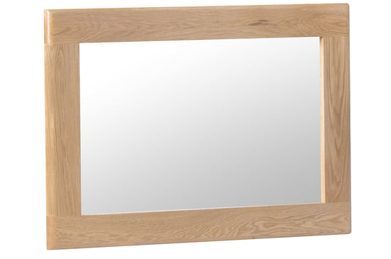 Nottingham Small Wall Mirror - Oak