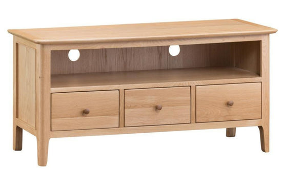 Nottingham Large TV Cabinet - Oak