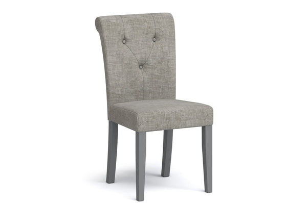 Morocco Upholstered Dining Chair - Grey