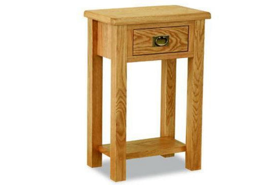 Shrewsbury Lite Collection - Telephone Table - Oak