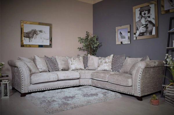 Venus 2C2 Corner Group Sofa - Available in Different Colours