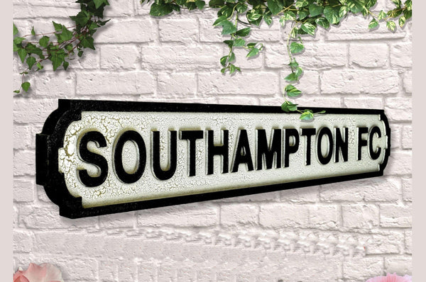Vintage Style Road Sign - Southampton Flower Club