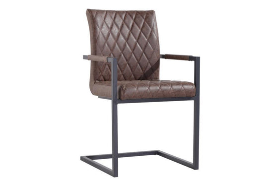Diamond Stitch Carver Chair - (Available in Various Colours)