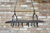 Hung Utility Rack - Black Metal
