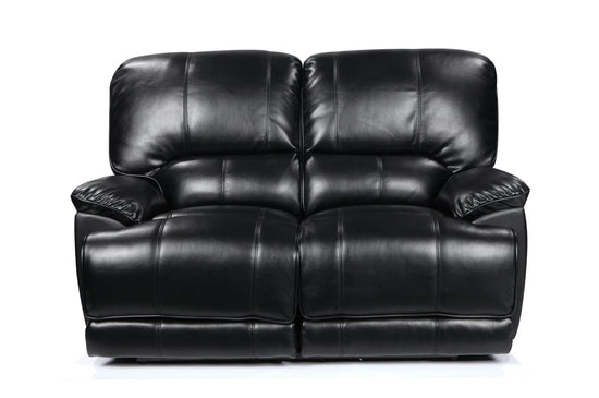 Eden 2 Seater Manual Recliner Sofa - Premium Leatheraire (Available in 4 Colours)