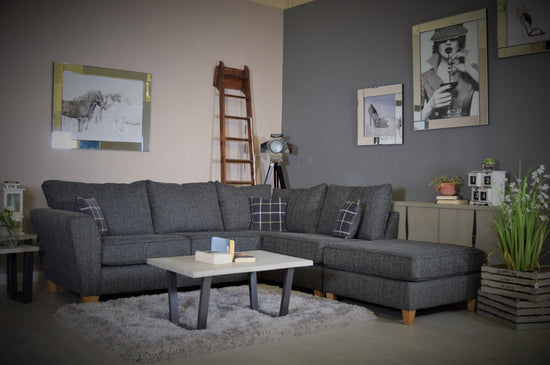 Lucca Corner Group Sofa - Available In Different Colours