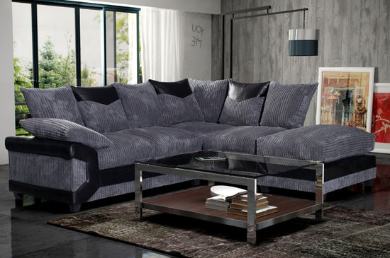 Dunoon Right Hand Facing Corner Group Sofa (Available in 2 Colours)