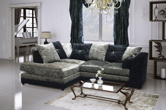 Bute Left Hand Facing Corner Group Sofa (Available in 2 Colours)