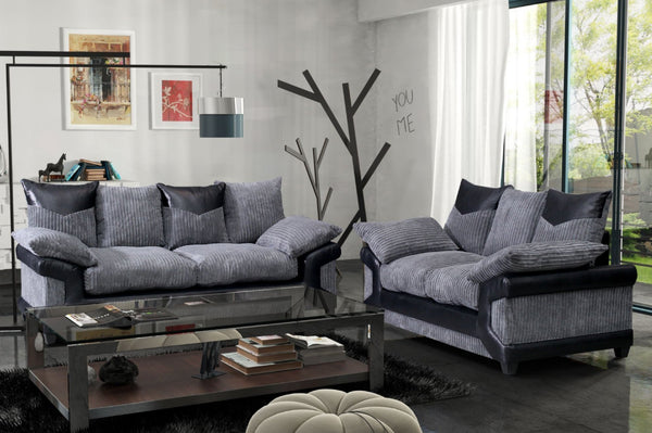 SET - Dunoon 3 Seater Sofa + 2 Seater Sofa - Available in 2 Colours